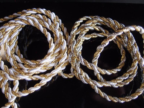 Gold & Silver Rope 5.5mm x 10Y