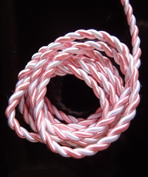 White & Pink Rope 5.5mm x 10Y