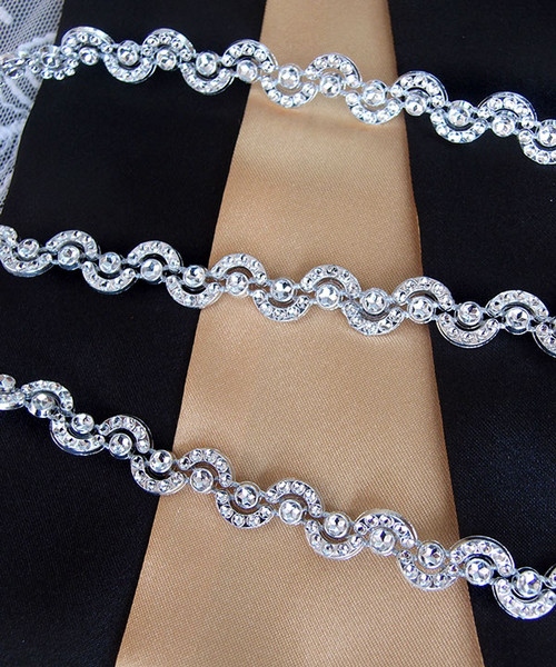 "Faux Diamond Trims  3/8"" x 10Y"