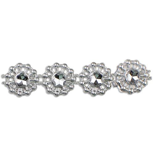 "Faux Diamond Trims 3/8"" x 10Y"