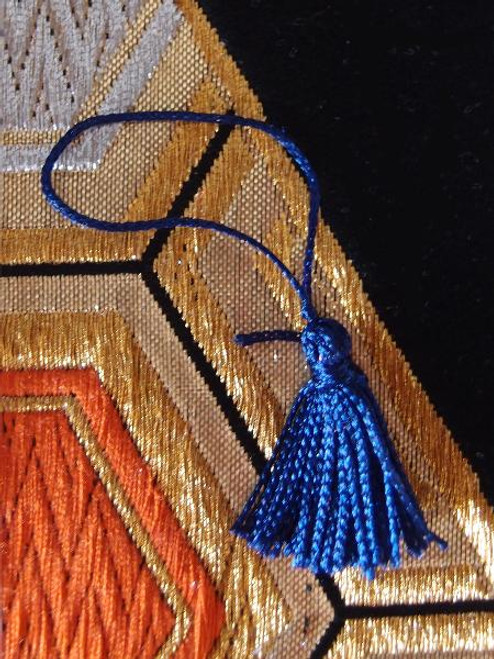 Royal Blue Mini Tassels 1""