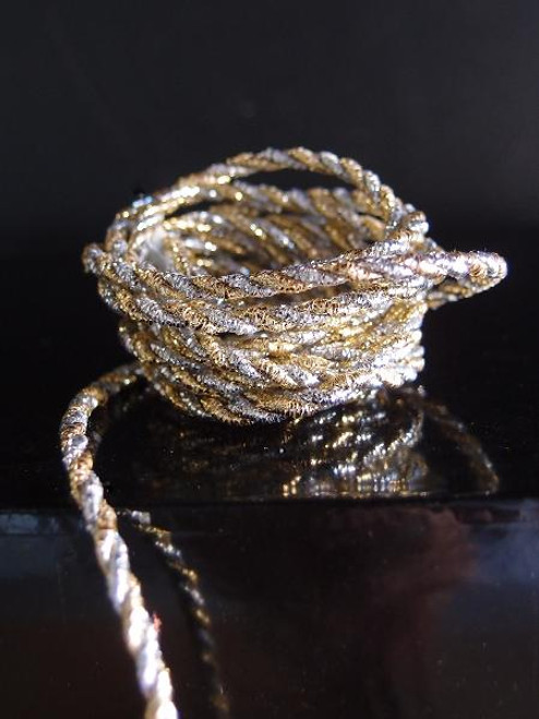 Gold & Silver Rope 2.5mm x 20Y