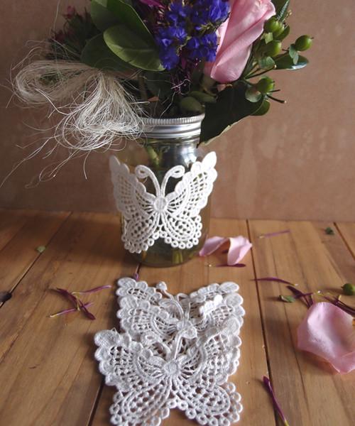Crochet Lace Butterfly Doily
