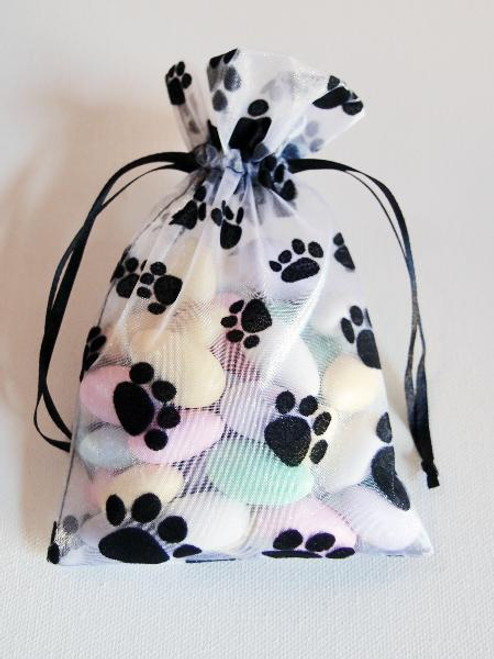 Paw on Organza Bags (4 sizes)