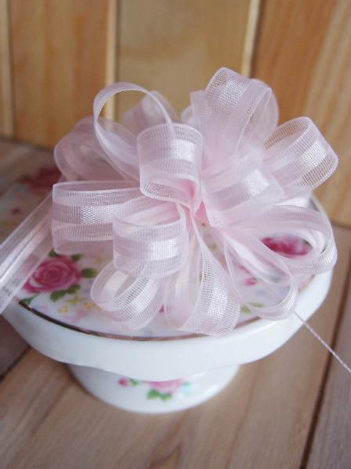 Pink Pull Bow Ribbon