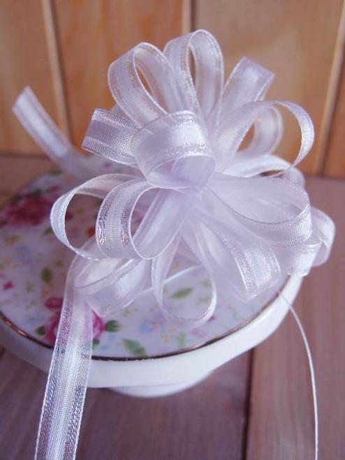 Lavender Pull Bow Ribbon