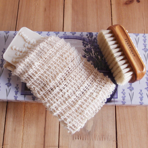 Sisal Soap Saver Scrub Bag B002-71, Wholesale Soap Saver Bags | Packaging Decor