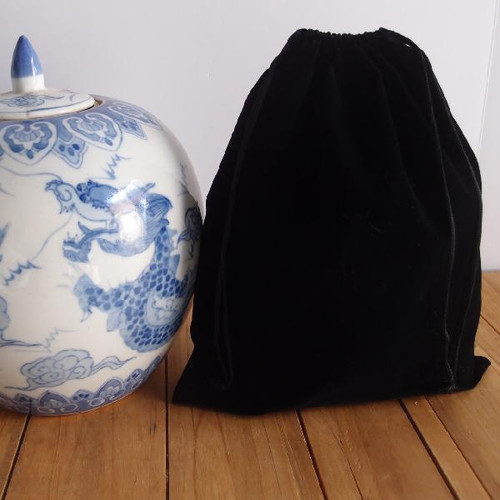 Black Large Velvet Bags (4 sizes)
