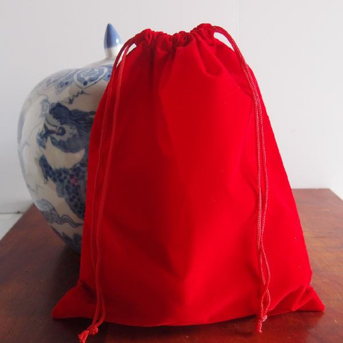 Red Large Velvet Bags (4 sizes)