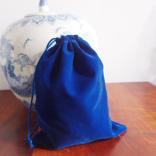 Royal Blue Large Velvet Bags (4 sizes)