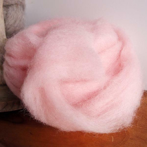 Pink Wool Roving Fiber, Wholesale Wool Roving Fiber | Packaging Decor