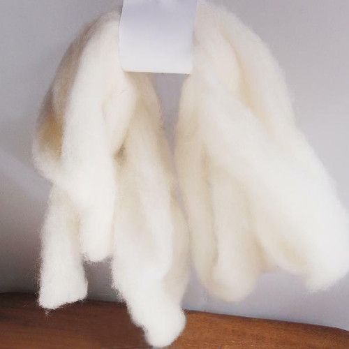 Wool Roving Fiber White, Wholesale Wool Roving Fiber | Packaging Decor