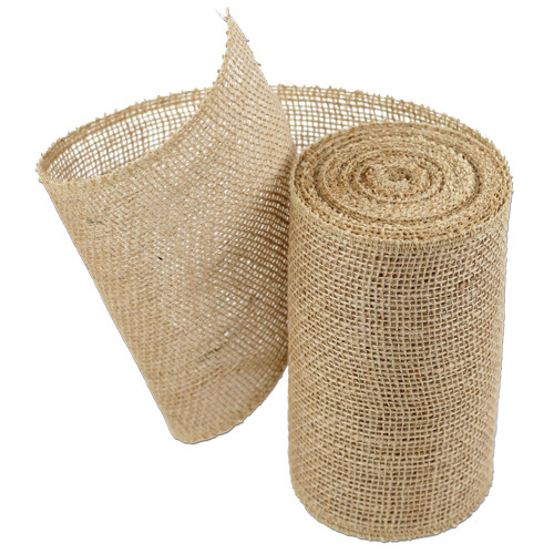 "6""x10Y Natural Burlap Table Runner"