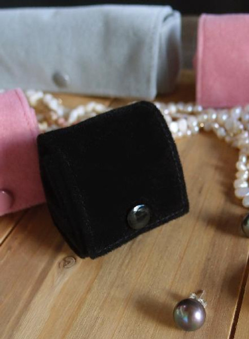 Black Velvet Jewelry Holder-Small