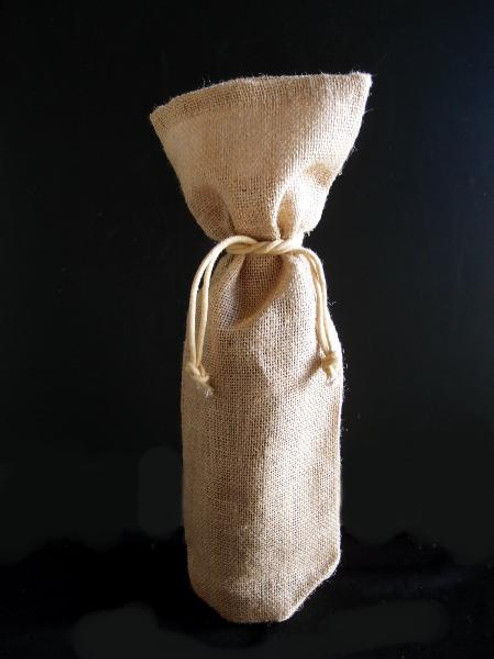 Natural Jute Wine Bag