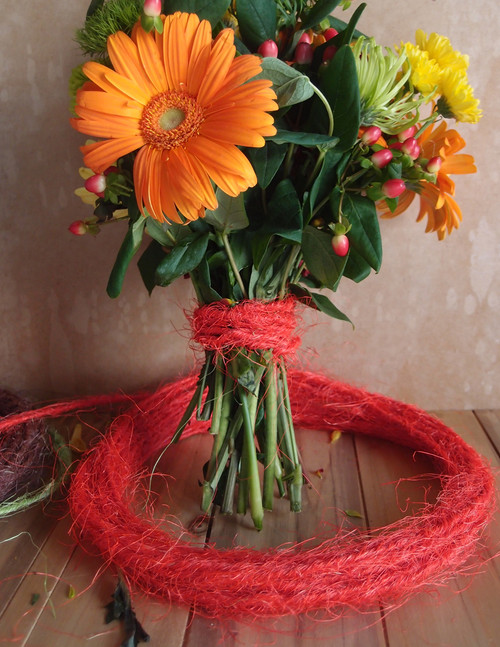 Floral Wrap - Sisal Cord - Sisal Wire Cord - Packaging Decor