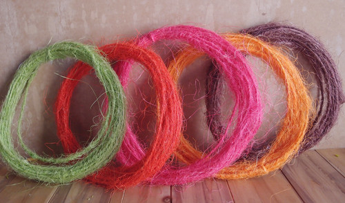 Red Sisal Wire Rope