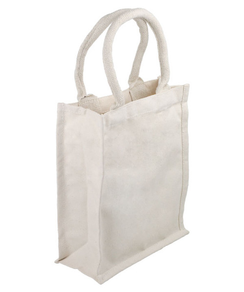 Cotton Canvas Tote with Cushion Handle
