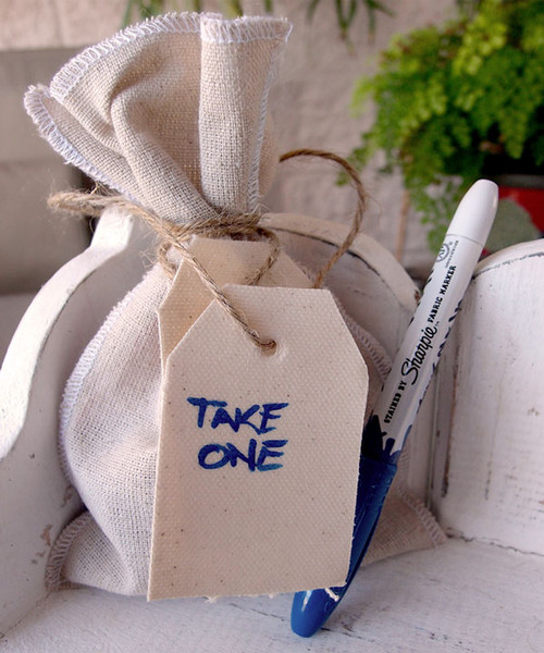 Jute Blend Hang Tag with Jute Cord