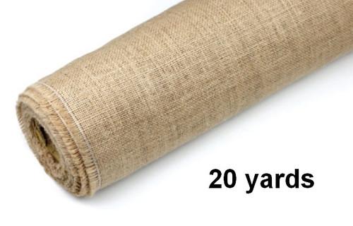 "Jute Fabric Roll 51"" x 20 yards"