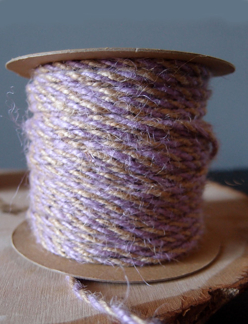 Lavender Two-Tone Jute Twine (2.5mm)