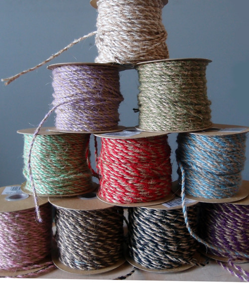Purple Two-Tone Jute Twine (2.5mm)