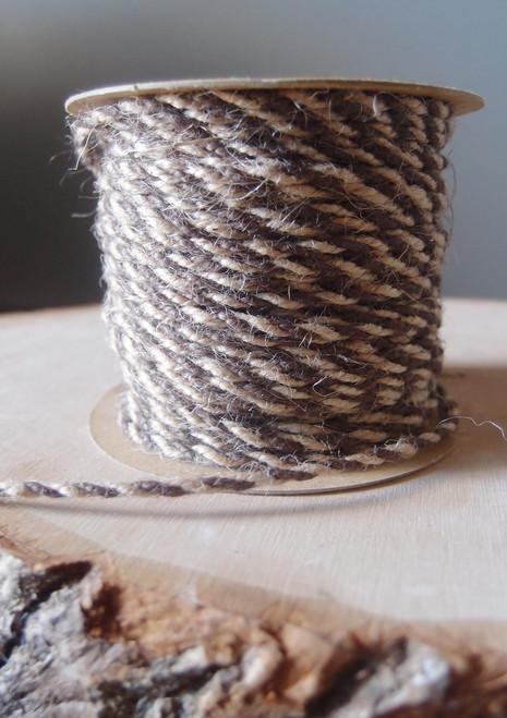 Brown Two-Tone Jute Twine (2.5mm)