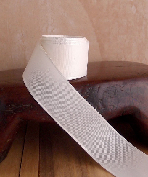 Ivory Florist's Choice Ribbon with Wire Edge (2 sizes)