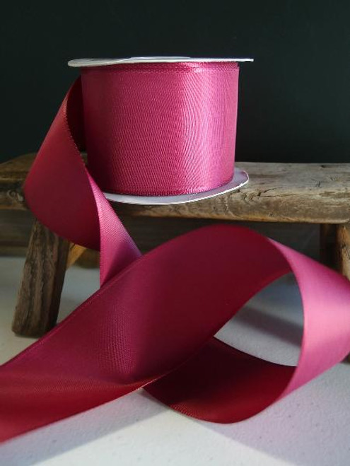 Burgundy Florist's Choice Ribbon with Wire Edge (2 sizes)