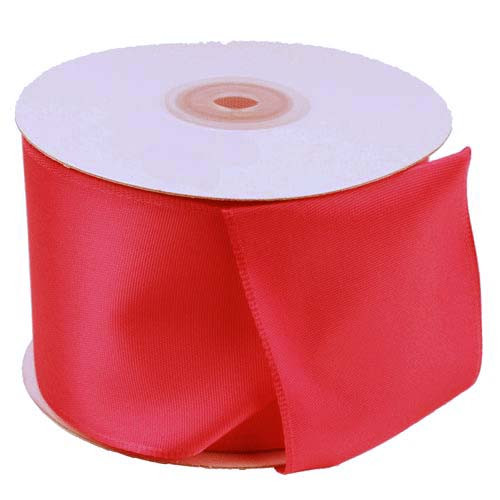 Red Florist's Choice Ribbon with Wire Edge (2 sizes)