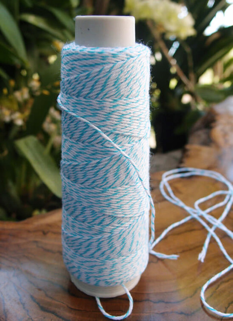 Light Blue & White Baker's Twine