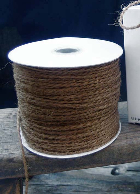 Brown Burlap Jute Cord 1.5mm