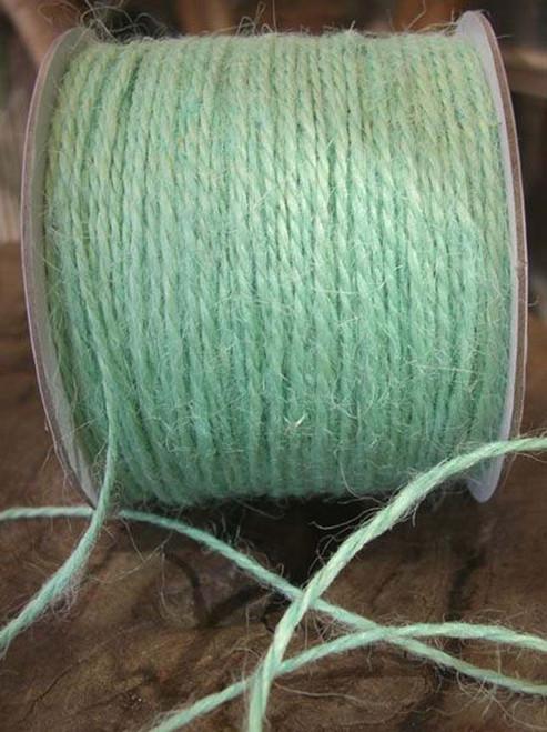 Mint Green Burlap Jute Cord 1.5mm