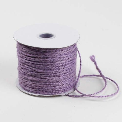 Lavender Burlap Jute Cord 1.5mm