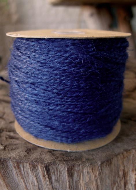 Blue Burlap Jute Cord 1.5mm