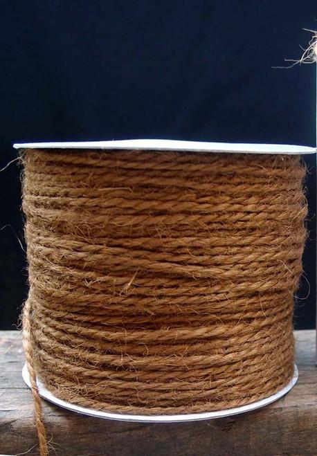 Light Brown Burlap Jute Cord 1.5mm