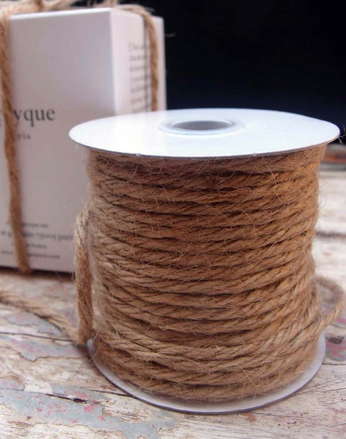 Natural Burlap Jute Cord 3.5mm