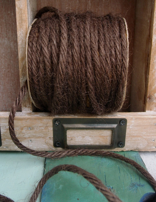 Brown Burlap Jute Cord 3.5mm