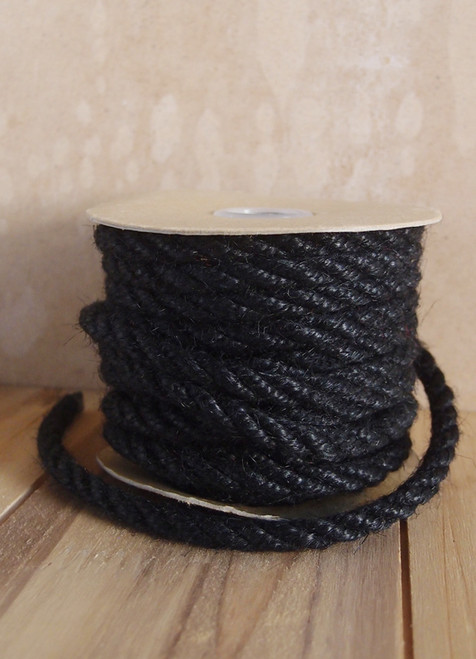 Black Jute Rope 6mm