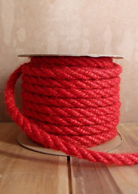 Red Jute Rope 6mm
