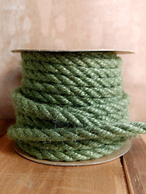 Moss Green Jute Rope 6mm