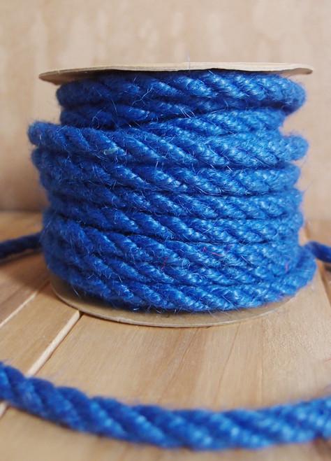 Blue Jute Rope 6mm