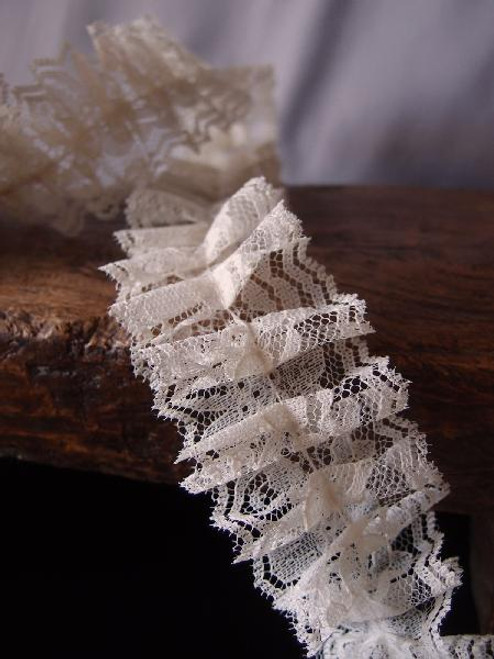 Ruffled Lace Ribbon