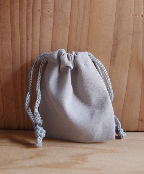 Silver Velvet Bags, Wholesale Velvet Drawstring Bags | Packaging Decor