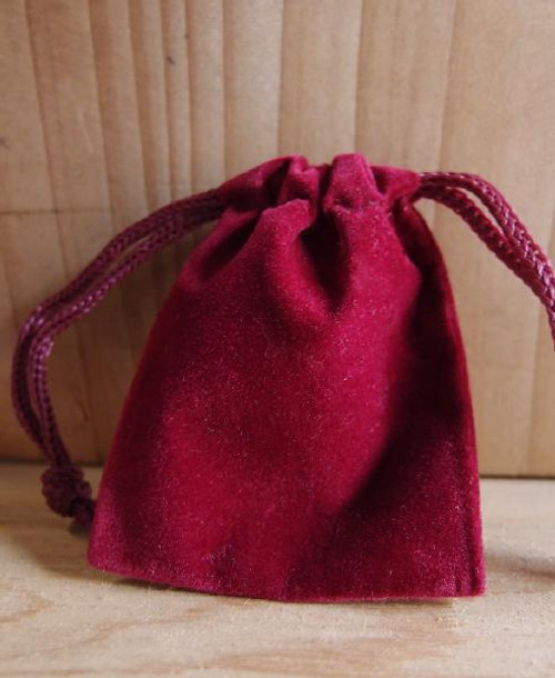 Burgundy Velvet Bags, Wholesale Velvet Drawstring Bags | Packaging Decor