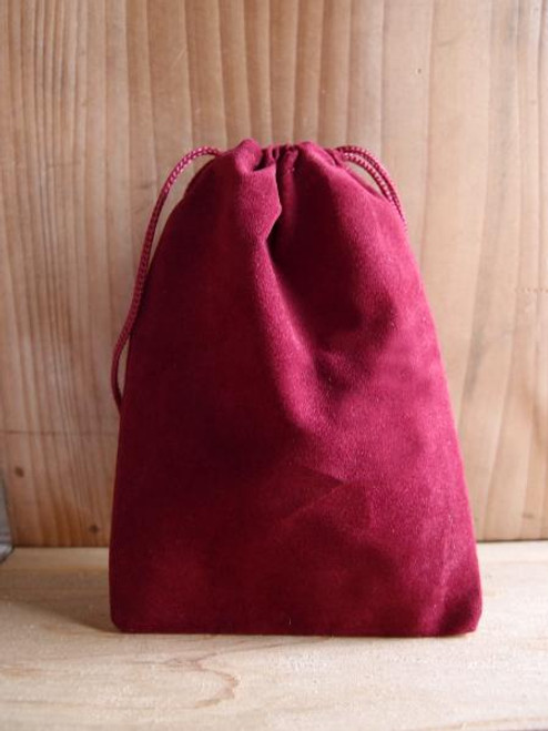 Burgundy Velvet Bags, Wholesale Jewelry Bags, Wholesale Drawstring Bags | Packaging Decor