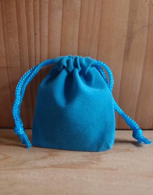 Turquoise Velvet Bags, Wholesale Jewelry Bags, Wholesale Velvet Bags | Packaging Decor
