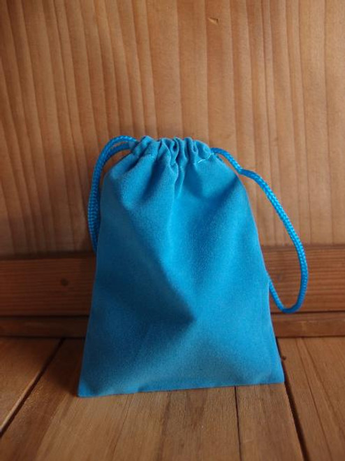 Turquoise Velvet Bags, Wholesale Velvet Bags | Packaging Decor