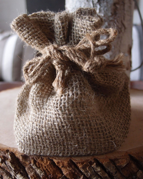 Burlap Pot Cover (2 sizes)