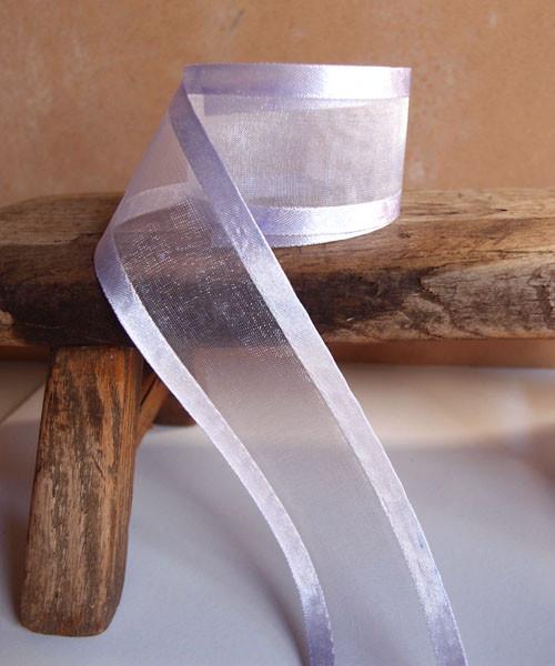 Iris Sheer Ribbon with Satin Edge (4 sizes)